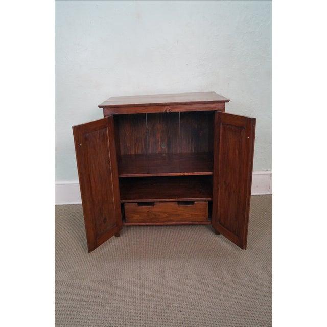 Image of CG Derstine Bucks County Hand Crafted Pine Cabinet