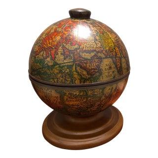 Vintage Globe Ice Bucket