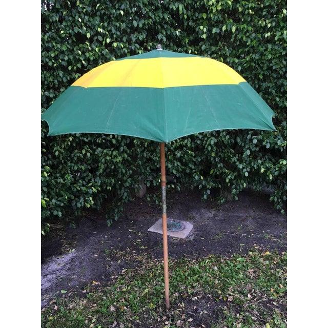 Vintage Canvas Umbrella - Image 2 of 8