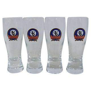 French Belzebuth Ale Glasses - Set of 4