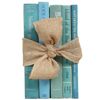 Midcentury Nautical Book Gift Set, S/5