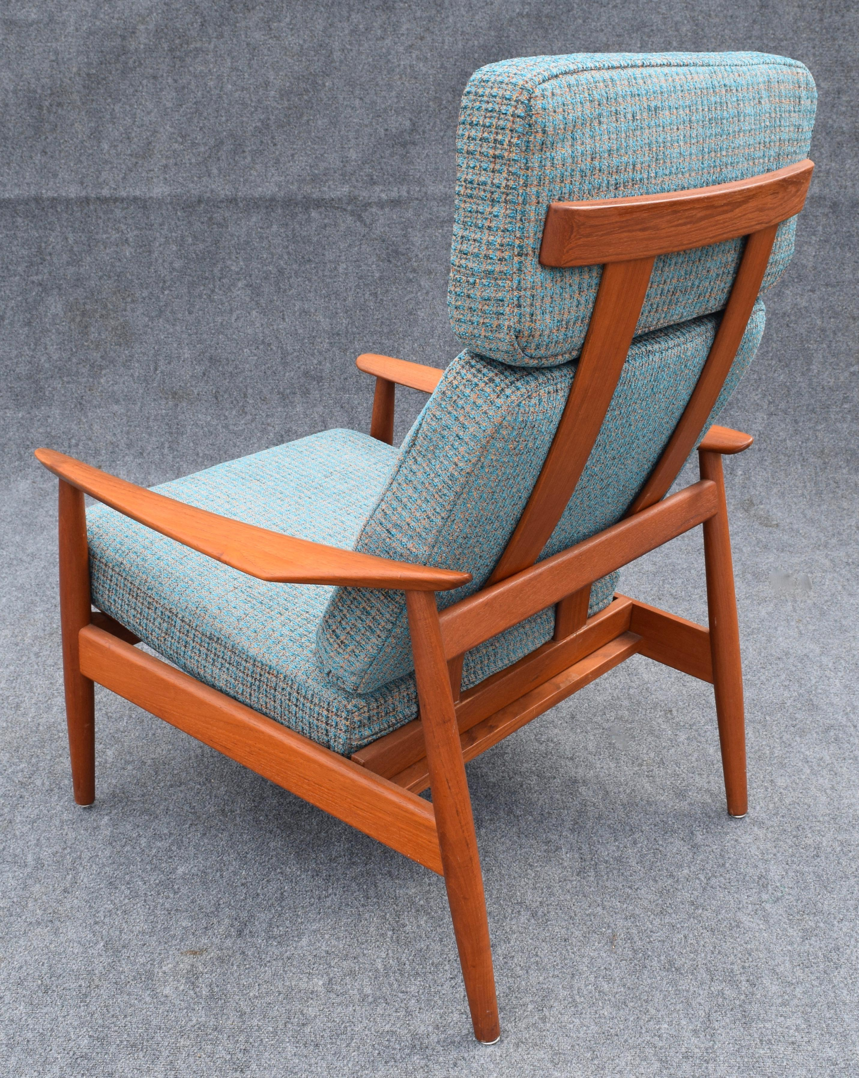 Vintage Arne Vodder for Cado Danish Modern Teak Recliner Chair - Image 5 of 10  sc 1 st  Chairish & Vintage Arne Vodder for Cado Danish Modern Teak Recliner Chair ... islam-shia.org