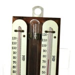 Image of Vintage Industrial Scientific Dual Thermometerbjn