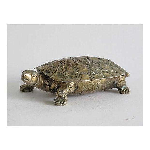 Silverplated Turtle Box - Image 3 of 5