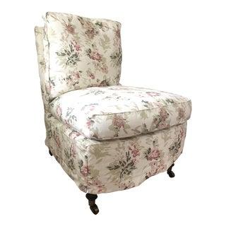 Custom Lee Industries Slipper Chair - Brand New - Penny Morrison Fabric