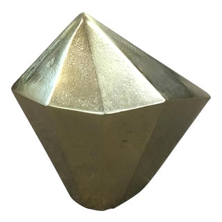 Gilded Rock Object