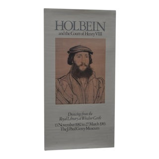 Holbein & the Court of Henry VIII Exhibition Poster