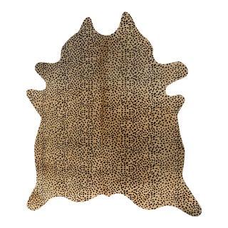 Cheetah Handmade Cowhide Rug - 6' x 7'