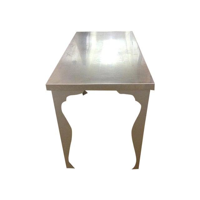 Image of Industrial Stainless Steel Top Desk