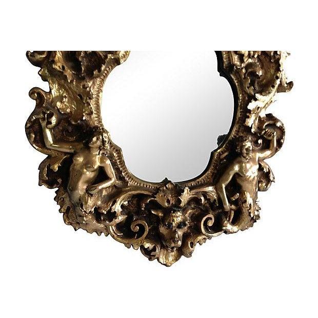 1960s Adam & Eve Gold Gilt Mirror - Image 5 of 5