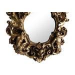 Image of 1960s Adam & Eve Gold Gilt Mirror