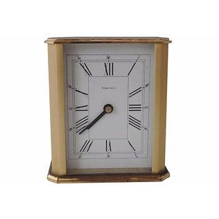 Tiffany & Co Brass Carriage Clock