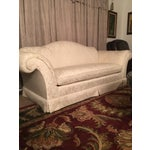 Image of Vintage Down Filled Sofa by Baker