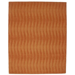 Contemporary Handmade Area Rug - 8' x 10'