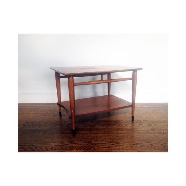 Mid Century Wood Coffee Table - Lane - Image 2 of 6