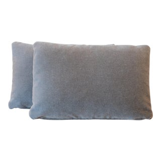 Duralee Mohair Lumbar Pillows - A Pair