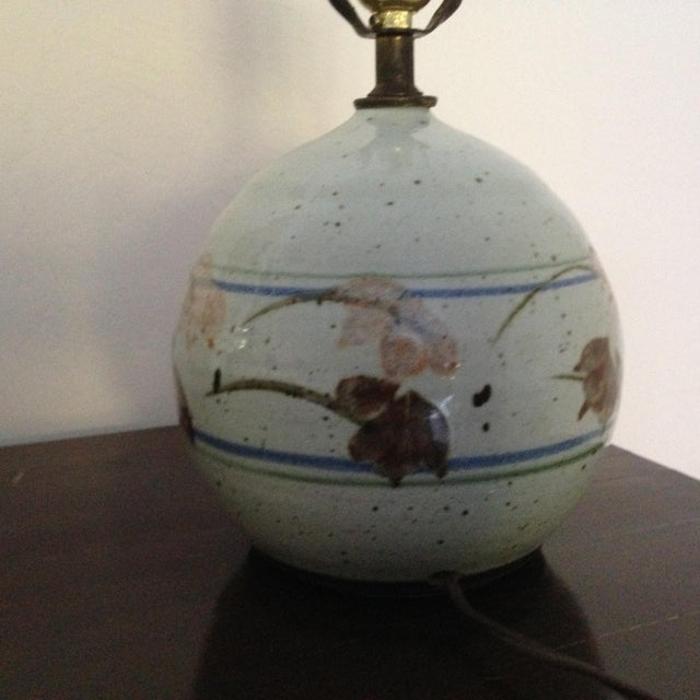 Mid-Century Modern Ceramic Lamp - Image 6 of 8