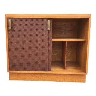 Vintage Storage & Record Cabinet