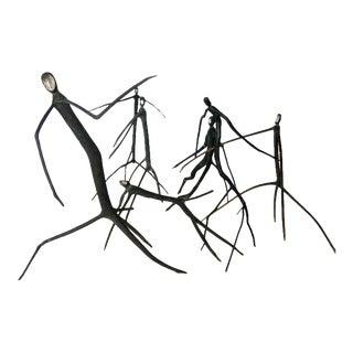 Stick Monkey Sculptures