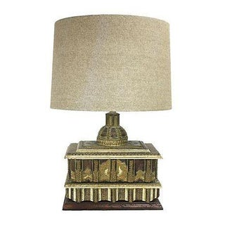 Boho Asian-Inspired Box Table Lamp