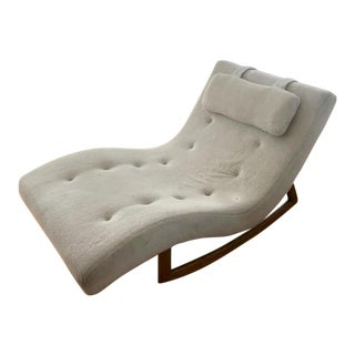Adrian Pearsall Chaise Wave Rocker
