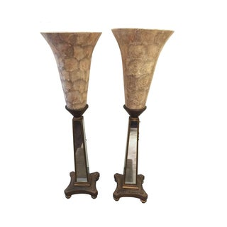 John Richard Torchere Lamps - a Pair