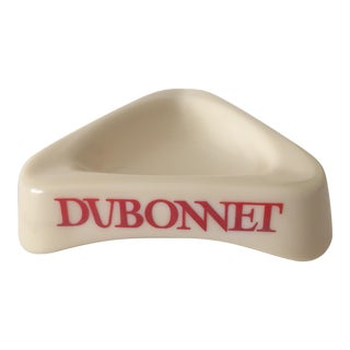 Mid-Century Modern Dubonnet French Bistro Ashtray