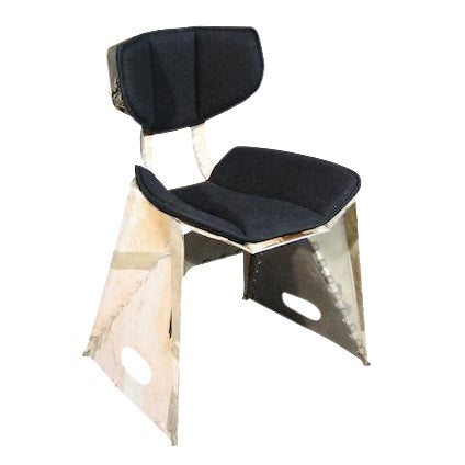 Organic Modern Industrial Chair - Image 1 of 4