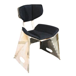 Organic Modern Industrial Chair