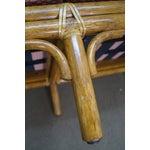 Image of McGuire of San Francisco Rattan Bamboo Settee