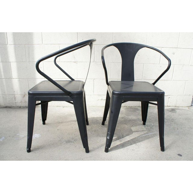 Tolix Dining Chairs- Set of 4 - Image 3 of 9