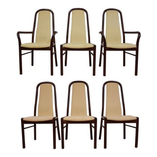 Boltinge Danish Modern Dining Chairs- Set of 6