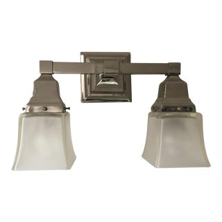 Urban Archeology Town Double Shade Sconce