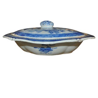 19th C. Lidded Canton Tureen