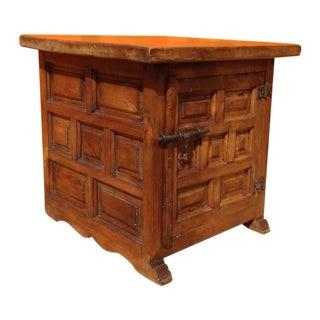 Primitive 1960's Hand Made Slab Top Cabinet