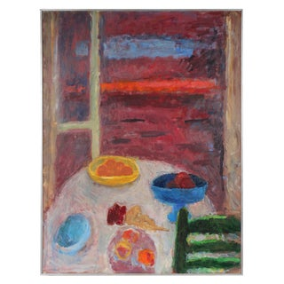 Saturated Table Scene by Gerald Wasserman