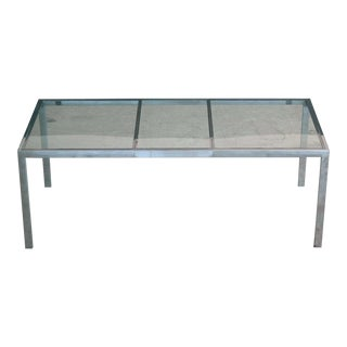 Milo Baughman Chrome Dining Table for DIA