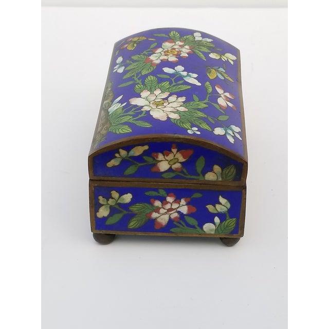 Antique Chinese Cloisonne Box - Image 3 of 11
