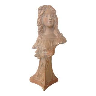 Antique Art Nouveau Statue