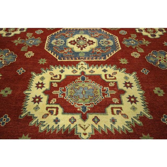 "Image of Kazak Oriental Red Area Rug - 8'1"" x 9'10"""