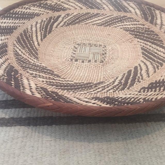 African Tonga Basket Bowl - Image 3 of 5