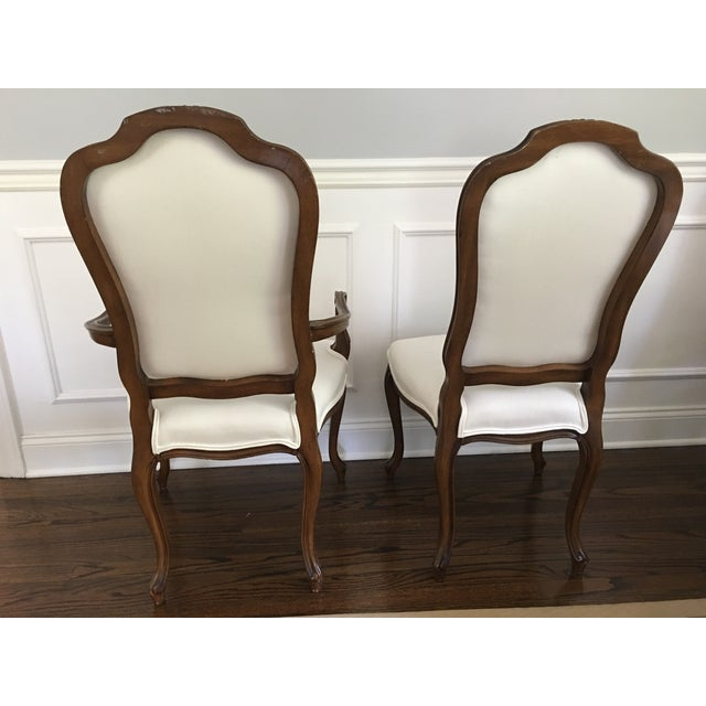 Karges French Style Dining Room Chairs - Set of 8 - Image 4 of 5