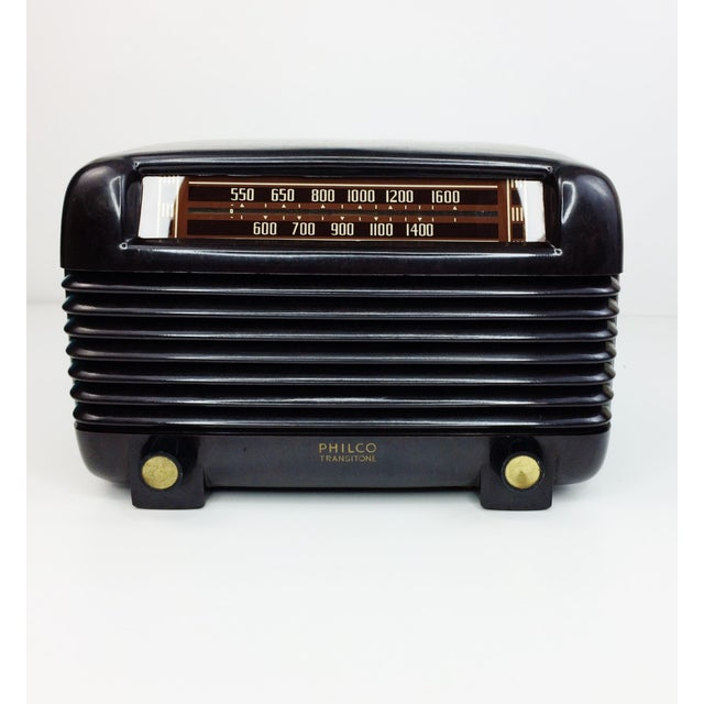 1946 Vintage Philco Transitone Tube Am Radio - Image 2 of 7