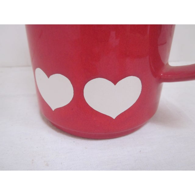 Waechtersbach German Red Heart Teapot - Image 4 of 7