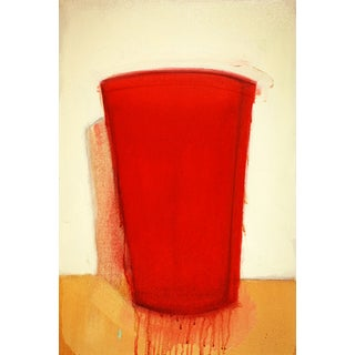 Larry Forte Original Painting Red Cup