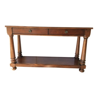 Colonial Console Table by Bassett