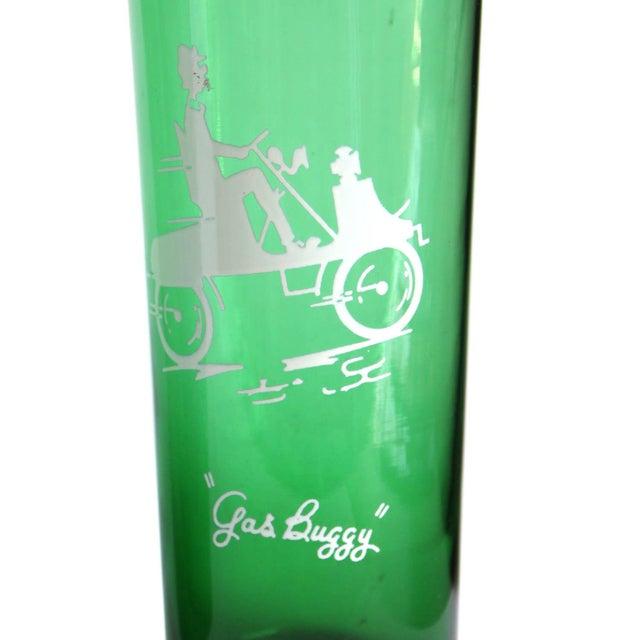 Vintage Green Drinking Glasses- Set of 4 - Image 5 of 6