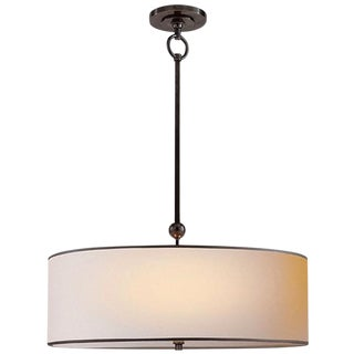Thomas O'Brien Reed Pendant Light W/ Barrel Shade