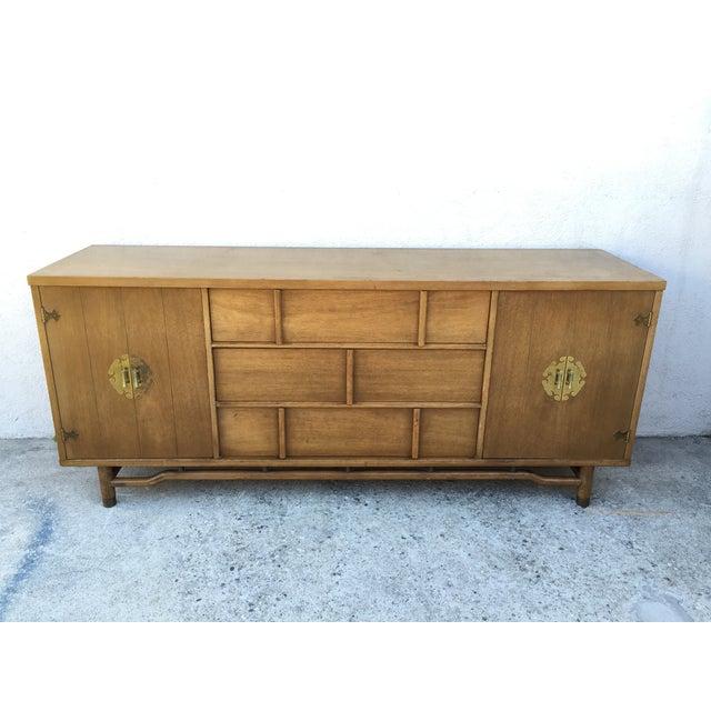 Mid-Century Solid Wood Dresser - Image 10 of 11