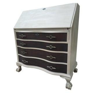 Vintage Hand Painted Secretary Desk